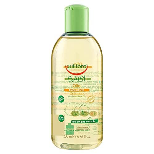 Equilibra Baby Olio Naturale Emolliente, 200 ml