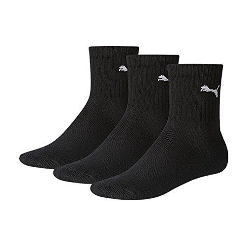 PUMA Kinder Sportsocken 9er Pack, Größe:31-34;Farbe:black (200)