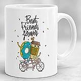 Tazza Best Friend Forever Tazza Frienship Best Friend Gift Tazza Bestie (301-400Ml)