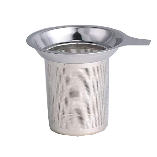 WJQ Bola de té de Acero Inoxidable multifunción Tea Maker té tamiz té Filtro Grabado Neto té Fuga té Filtro de Alimentos Set multifunción Conveniente Comer Alta Temperatura