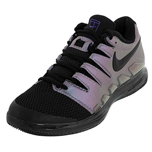 Nike The Zoom Vapor 10 Junior Tennis Scarpa in Nero e Multicolore, Nero (900.), 34 EU