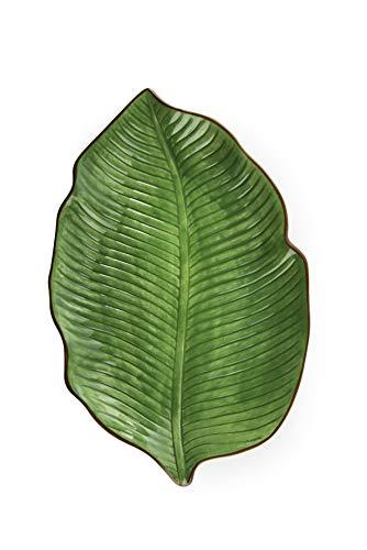 Excelsa Foliage - Plato para hoja, cerámica