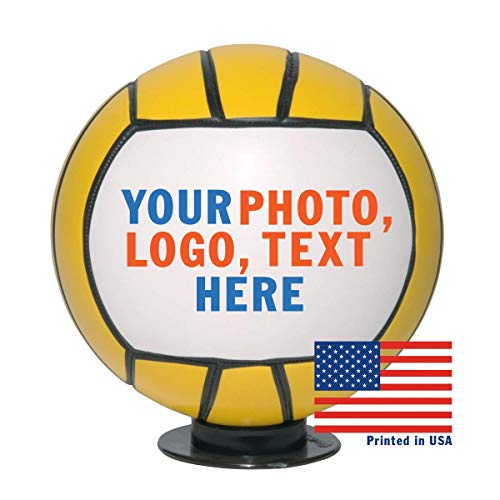 """Personalized Custom Full Size 12"""" Water Polo Ball 