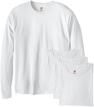 4-Pack Hanes Long-Sleeve ComfortSoft Men's T-Shirt