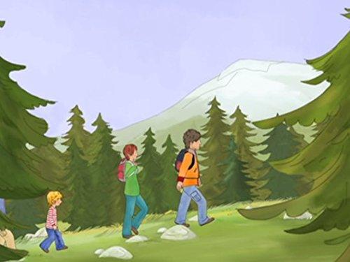 Conni in den Bergen