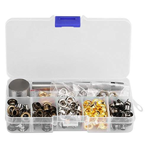 Tüllen Kit, Ösen für Tüllen Ösen und Unterlegscheiben, zum Ersetzen von Zubehör(5mm*220)