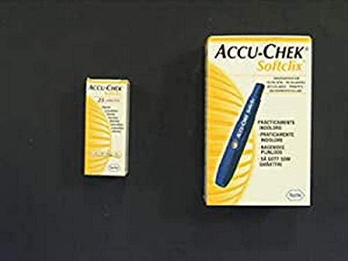 Accu-Chek Accu-Chek Softclix Pinchador+25 Lancetas 21 g