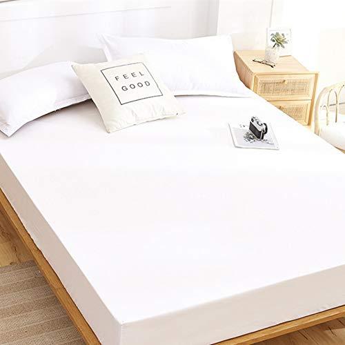 haiba sábana de una sola pieza cubierta protectora de colchón, cubierta de polvo antideslizante, 180cmx220cm+25cm