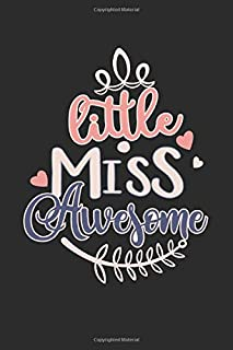 Little Miss Awesome: Blood Glucose Monitoring Log Book for Girls & Women (Diabetic Log Books)