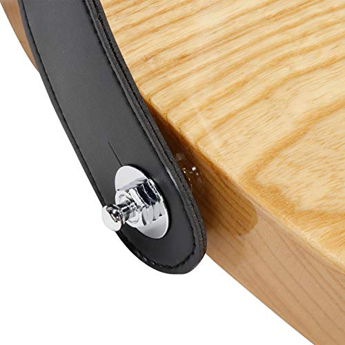 Parksonsロック式ストラップピンギターベース用2個セットPSL-700Cクロム