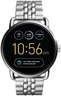Fossil Unisex Q Wander Gen 2 Touchscreen Silver Stainless Steel Smartwatch FTW2111