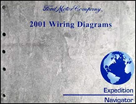 2001-2002 ford expedition lincoln navigator wiring diagram manual paperback  – 2002