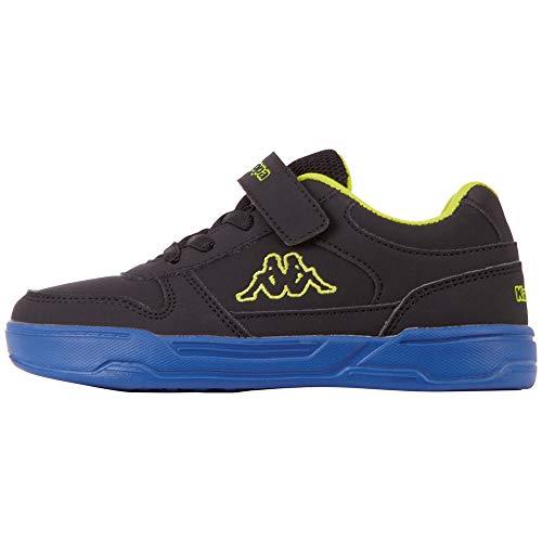 Kappa Dalton Ice BC K Unisex Kids, Scarpe per Jogging su Strada, 1160 Black Blue, 31 EU