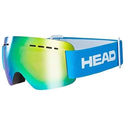 HEAD Unisex– Erwachsene SOLAR JR Skibrille, FMR blau, Einheitsgröße