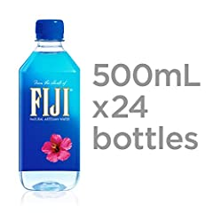 Pack size: Pack of 24, 500 milliliter (16.9 ounce) bottles Everyday hydration: Perfect for quenching thirst on the go, in the office, and at events Natural electrolytes: There's electrolyte-enhanced water, and then there's FIJI Water. As tropical rai...