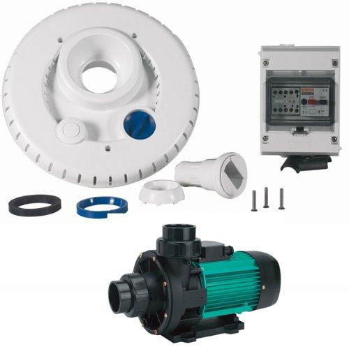 Espa - ncr2 wiper3 300 Mono - Kit Pompe 44m3/h + Facade + Coffret 'lectrique pour nage … Contre Courant