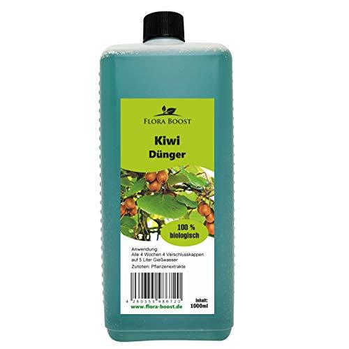 Kiwi Pflanzen Dünger - Bessere Blütenbildung mehr Kiwis - Düngen wie die Profis - Kräftige und gesunde Kiwi Pflanzen - 100% Naturprodukt (1000ml)