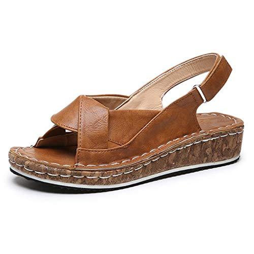 ELECTRI ✿Sandales d'été pour femmes tongs antidérapantes sandales plates pour la plage