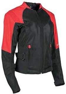 Speed and Strength Sinfully Sweet Mesh Women's Street Motorcycle Jacket - Red/Black/Medium