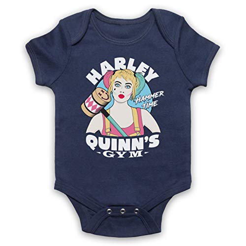 My Icon Art & Clothing Birds Prey Harley Quinn's Gym Graphic Novel Superhero - Pelele para bebé...