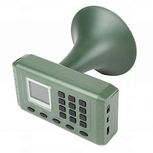 Pvnoocy Bird Caller Predator, Hunting Decoy Bird Caller Birds Sound Loudspeaker Electronics Built-in Mp3 Player with Remote Control Timer Playing Loudspeaker