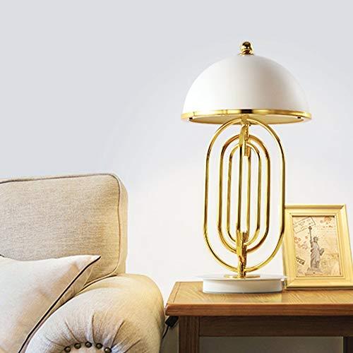 DKEE Lámparas de Mesa Lámpara De Noche Dormitorio Moderno Sofá De Sala De Estar Minimalista Lámparas De Luz Nórdica Moda De Lujo Creativa Lámpara Decorativa