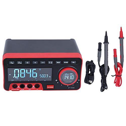 デジタルマルチメータ ZT5566 19999はオートレンジをカウント AC/DC電圧 電流 抵抗静電容量 多機能電気テスター 高精度