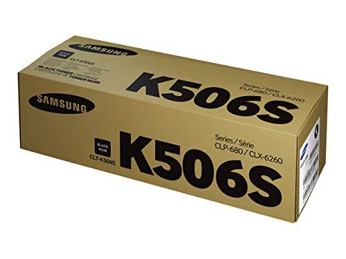 Samsung CLT-K506S/ELS Original Toner (Kompatibel mit: CLP-680ND/680DW/CLX-6260 Series) schwarz
