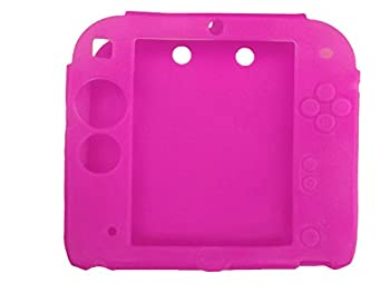 Protective Soft Silicone Rubber Gel Skin Case Cover for Nintendo 2DS  RR