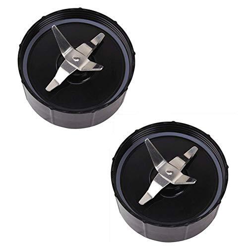 Senmubery 2er-Pack, Kompatibles Ersatzteil für Kreuzmesser mit Original Magic 250 W Mixer Küchenmaschine, Entsafter und Mixer (Modell MB1001)