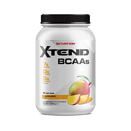 XTEND Original - BCAA-Pulver - Mango | Ergänzungsmittel mit verzweigtkettigen Aminosäuren | 7 g BCAA + Elektrolyte für Regeneration & Hydration | 90 Portionen
