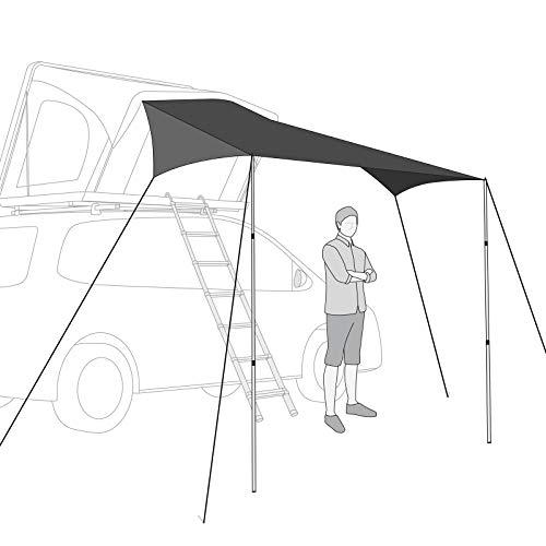 Qeedo Freedom Tarp (2,5 x 4 m) Vordach, Sonnensegel Freedom Dachzelte