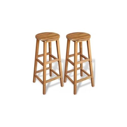 premium selection ceb03 e18fd Wood Bar Stools: Amazon.co.uk