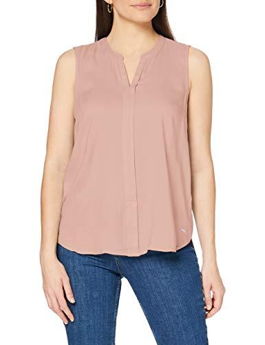 TOM TAILOR Denim Damen 1008261 Bluse, Rosa (Blush Pink 15950), S