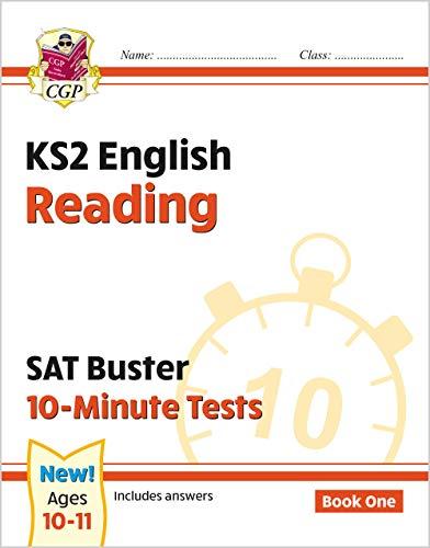 New KS2 English SAT Buster 10-Minute Tests: Reading - Book 1 (for the 2021 tests) (CGP KS2 English SATs)