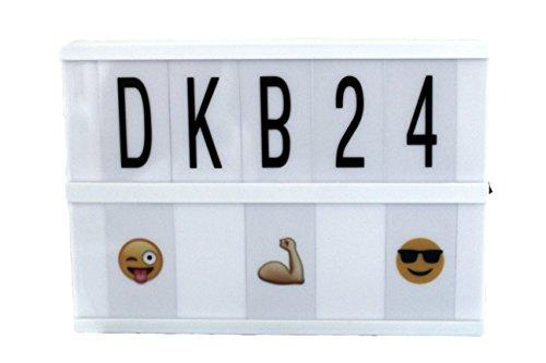 DKB LED Lightbox Lichtbox Leucht-Kasten Leuchtbox Leuchtreklame Light Buchstaben