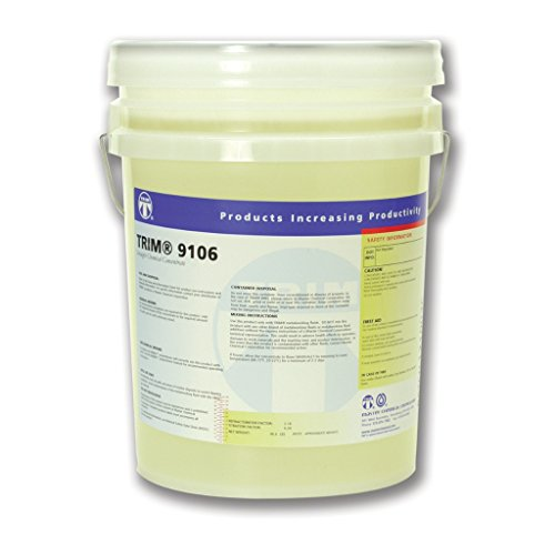 TRIM Cutting & Grinding Fluids 9106/5 Synthetic Coolant, 5 gal Pail