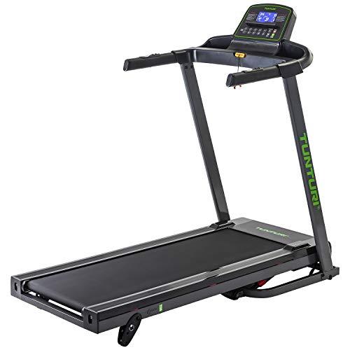 Tunturi Laufband T35 Cardio Fit, Hometrainer mit 41 Programmen, 3 Winkel, 1-16 km/h, elektrisch, klappbar