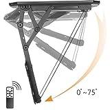 Speaka Support TV pour Plafond, motorisé 23'-55' 2 Max. Normes VESA: VESA 75 x 75