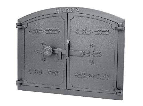 sellon H1107 - Puerta de horno de hierro fundido, para pizza y pan, diseño de H1107