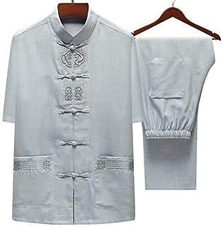 Tai Chi Clothing Martial Arts Uniforms Tai Chi Clothing Men Vintage Chinese Wing Chun Kung Fu Uniform Cotton And Linen Mar...