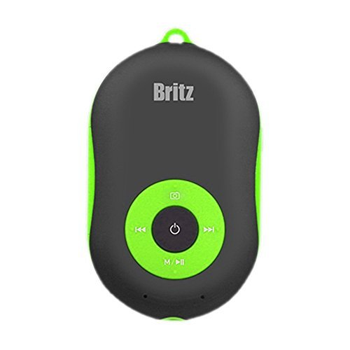 Britz Portable Bluetooth Speaker BZ-A600 YO Mp3 8x5x2cm, Hands Free, Aux, Camera Remote, Powerful Sound, Mp3 Speakers M0094 (Green)