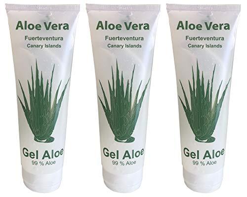 Vidaloe Aloe Vera Gel 99% 250ml x 3 Einheiten