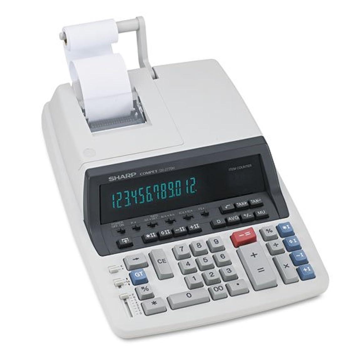 心理的ブロッサムではごきげんようSHRQS2770H - Sharp QS2770H Commercial Calculator by SHARP