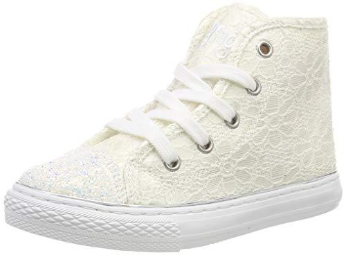 PRIMIGI Mädchen PGC 34558 Hohe Sneaker, Weiß (Bianco 3455800), 29 EU