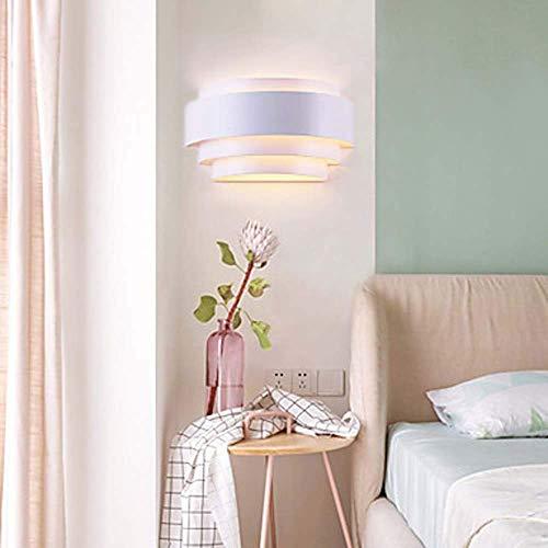 Mkjbd wandlamp tuinverlichting wandlamp mooie LED wit ingezette wandlampen weglichten metaal wandlamp 60 W mooie sfeer, MM