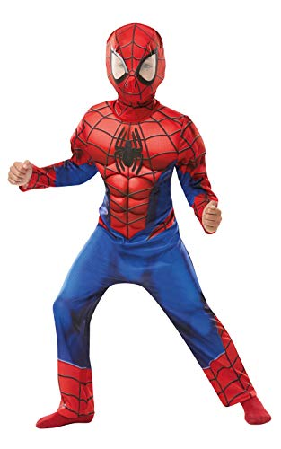Rubies Spiderman Marvel Spider-Man disfraz de lujo para niños, Color rosso, medium (640841M)