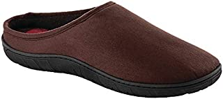 Men's Memory Foam Slippers Brown