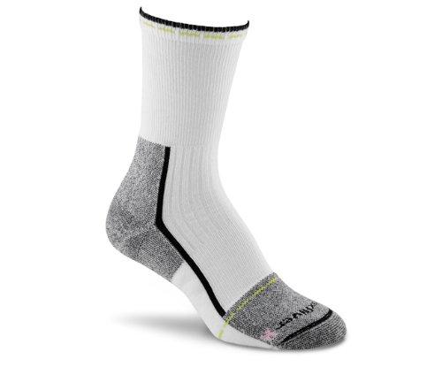 Fox River Women's Her Steel-Toe Crew Socks, Black, Medium