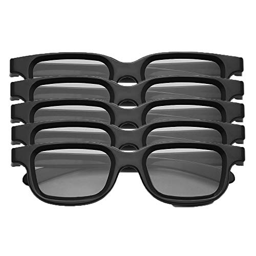 Docooler VQ163R Pack de 5 Gafas 3D pasivas polarizadas para 3D TV...